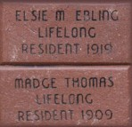 Engraved Brick 4 x 8 Standard
