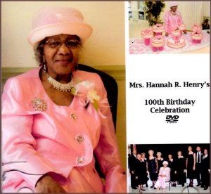 Hannah Henry DVD cover